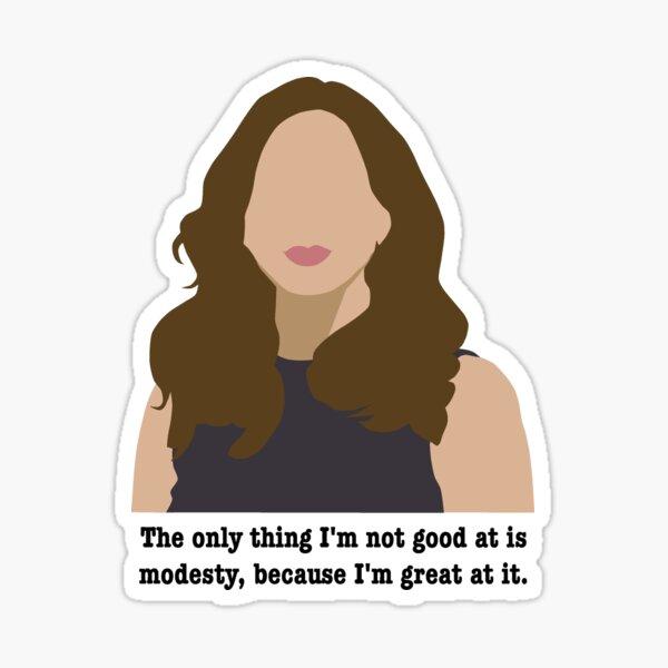 Gina Linetti - Brooklyn 99 - Modesty Sticker