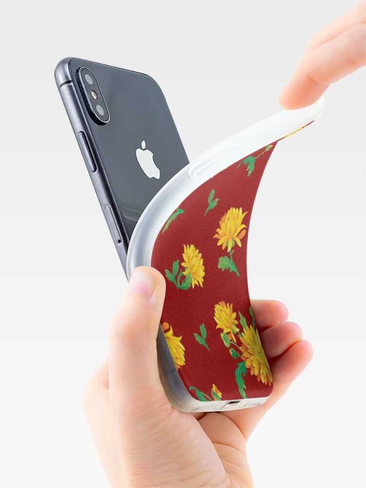 Alternate view of Autumn Chrysanthemums iPhone Case & Cover
