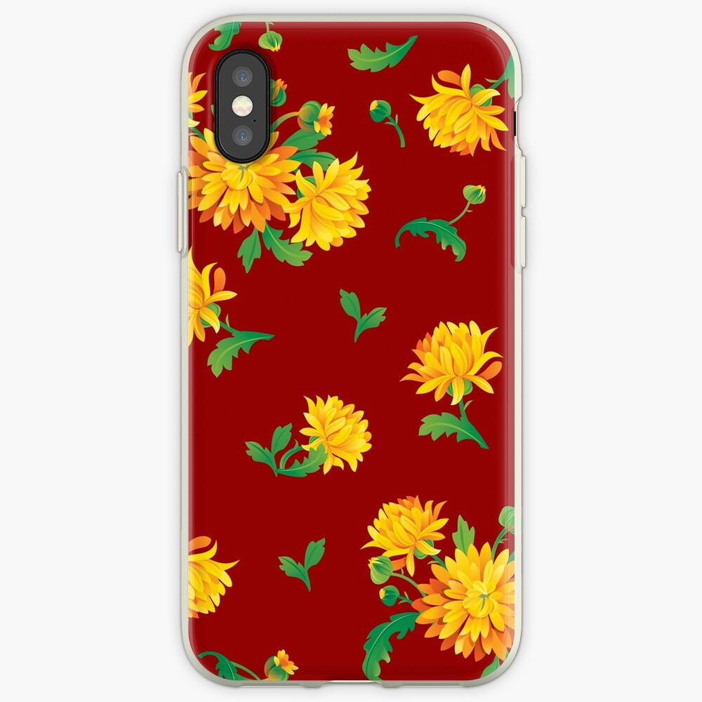 Autumn Chrysanthemums iPhone Case & Cover