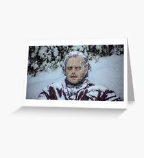 frozen jack Greeting Card
