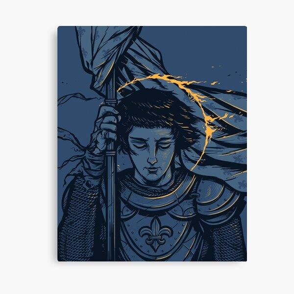 Saint Joan of Arc Canvas Print