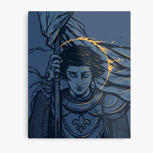 Saint Joan of Arc Metal Print
