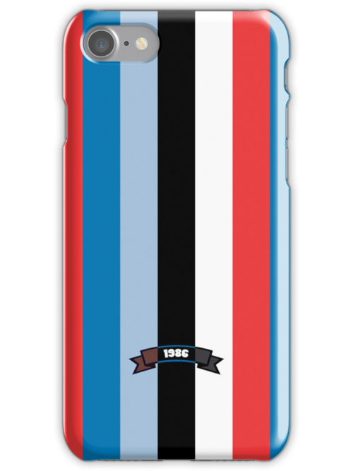 Sharp Color Stripe Pattern iPhone 5 Case by thejoyker1986