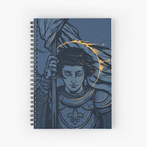 Saint Joan of Arc Spiral Notebook