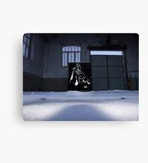 Vader spraypainting Canvas Print