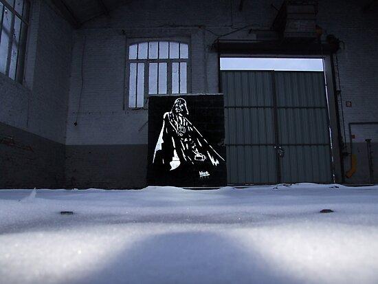 Vader spraypainting by blouh