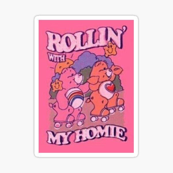 Rollin' With My Homie Sticker