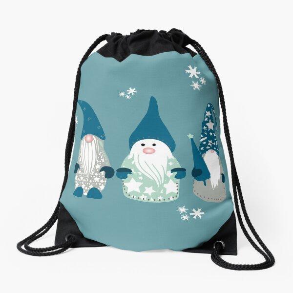 Trio of Gnomes  Drawstring Bag