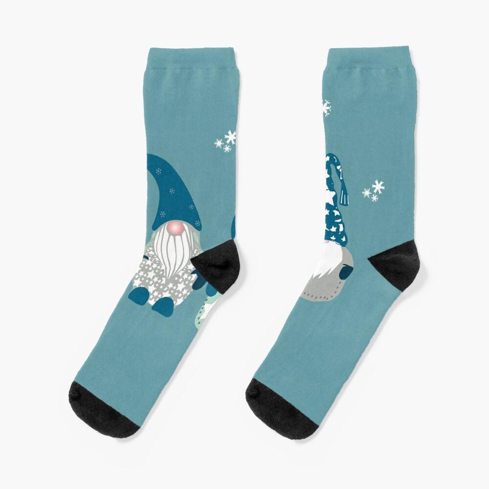 Trio of Gnomes  Socks
