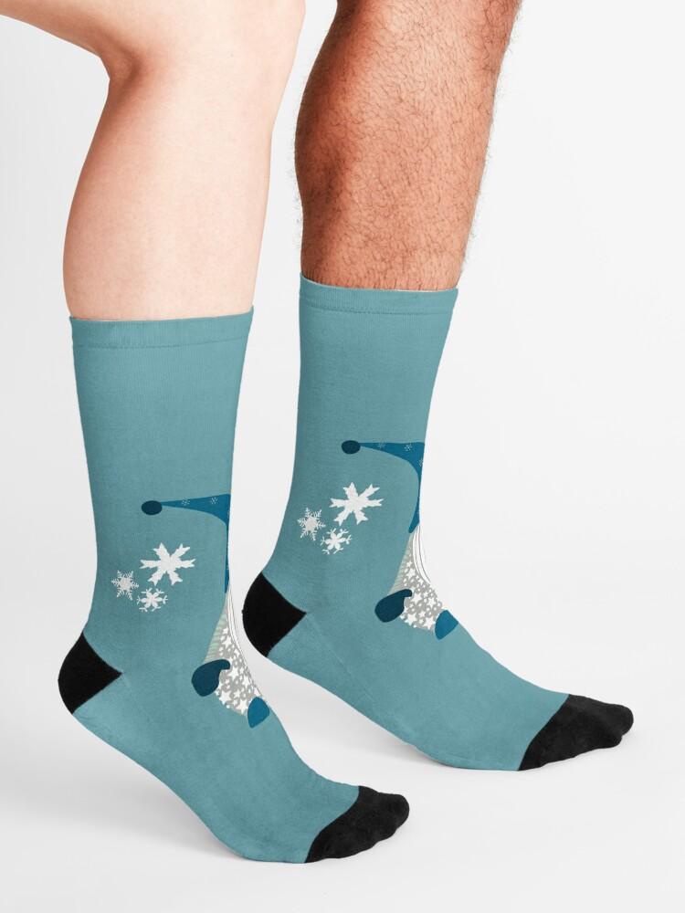 Alternate view of Trio of Gnomes  Socks