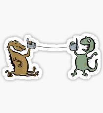 phonosaurs Sticker