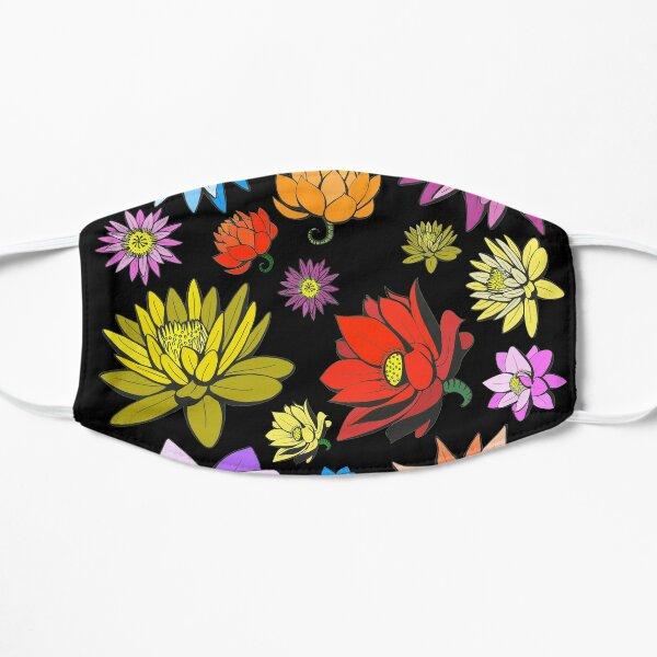 Lotus Flowers  Flat Mask