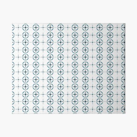 Soft Snowflakes Art Board Print