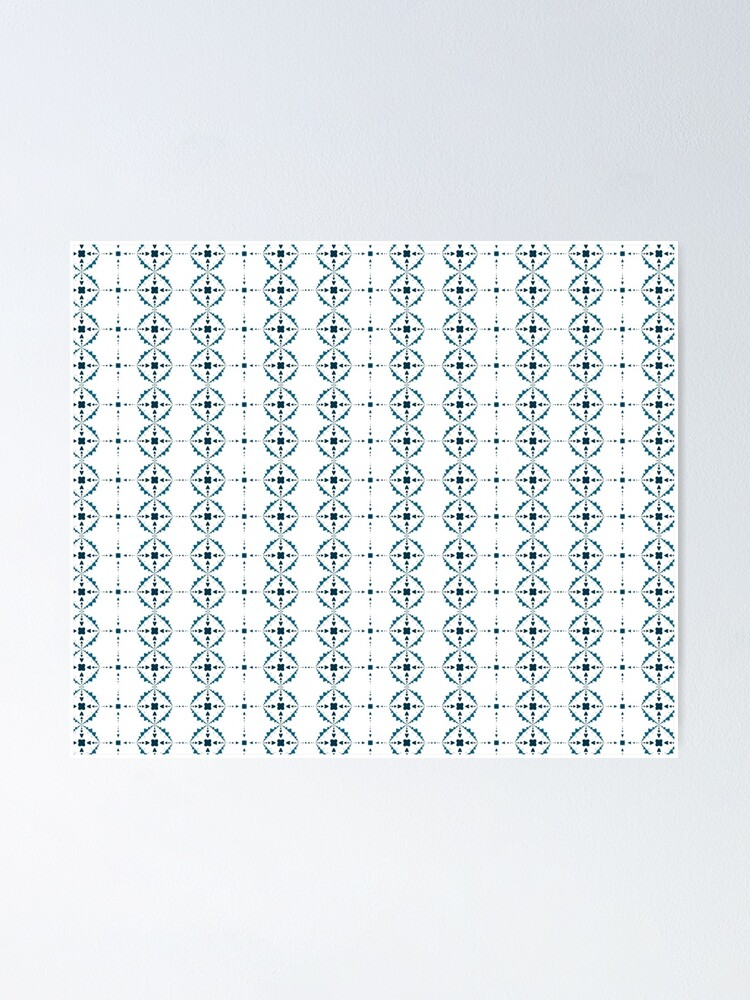 Alternate view of Soft Snowflakes Poster