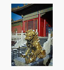 China - Beijing - Forbidden City Photographic Print