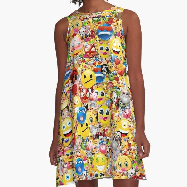 emoji A-Line Dress