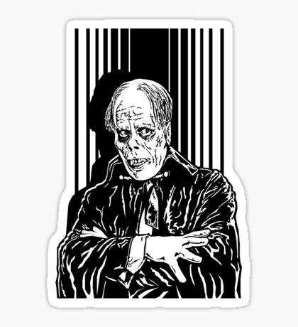 The Phantom of the Opera (Black) Sticker