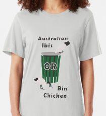 Australian Ibis: It's a Bin Chicken Slim Fit T-Shirt