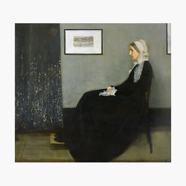 Portrait of the Artist's Mother [Whistler's Mother] 1871 Photographic Print