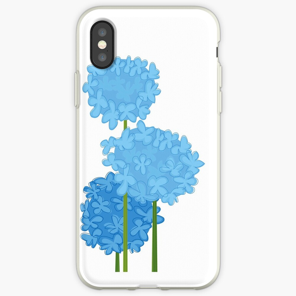 Blue Hydrangeas iPhone Case & Cover