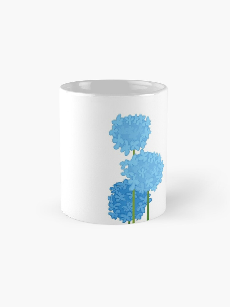 Alternate view of Blue Hydrangeas Mug