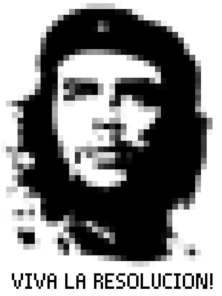 Che Guevara - Viva la Resolucion! by upchuck