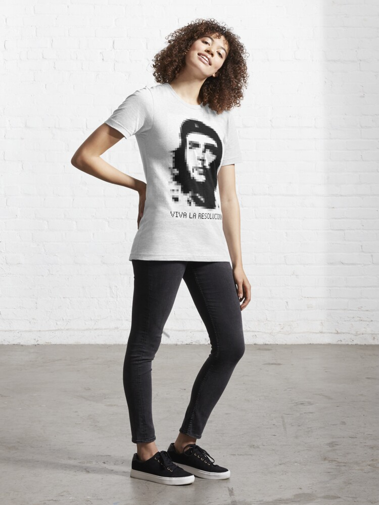 Alternate view of Che Guevara - Viva la Resolucion! Essential T-Shirt