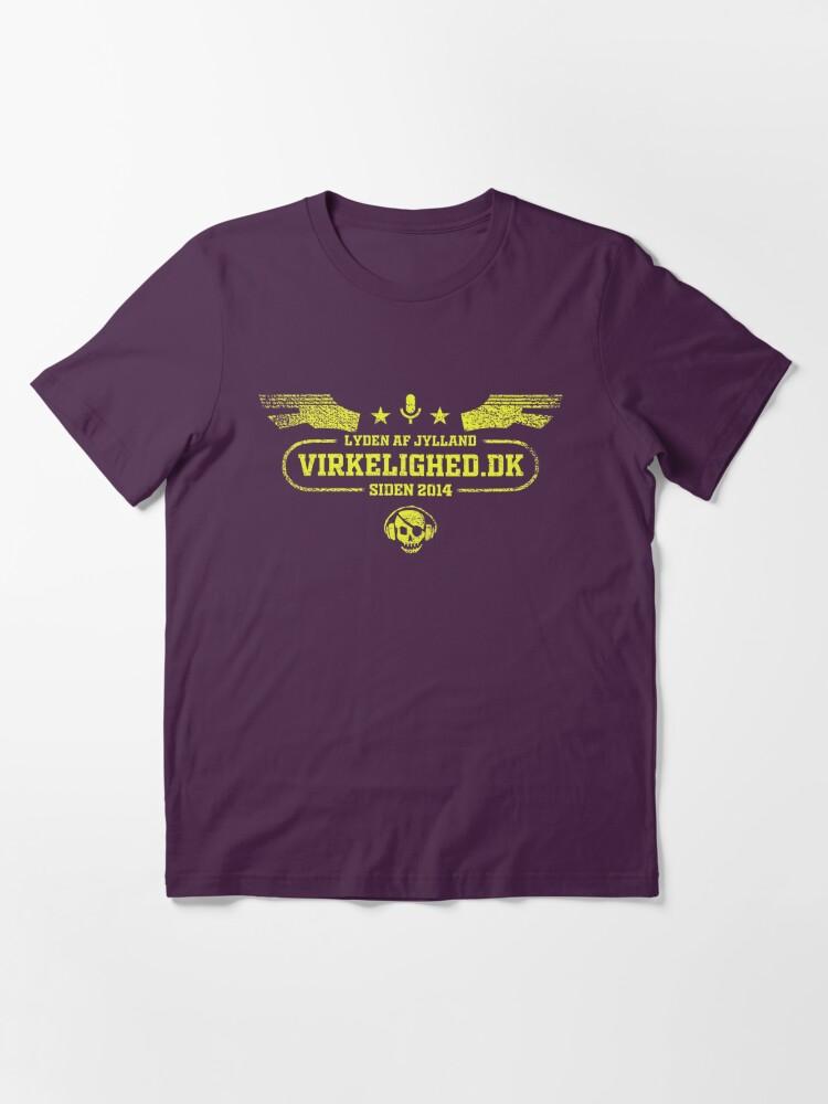Alternate view of Lyden af Jylland - virkelighed.dk Essential T-Shirt