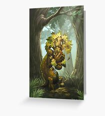 Crying Tree of Life Greeting Card