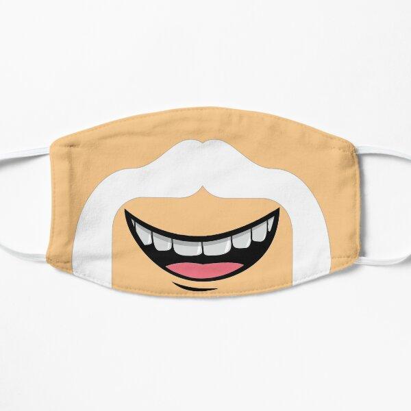 Schnurrbartmaske Flache Maske
