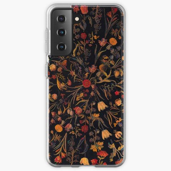 Midnight Floral Samsung Galaxy Soft Case