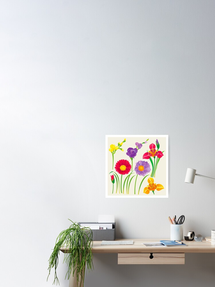 Alternate view of Spring Flowers Poster