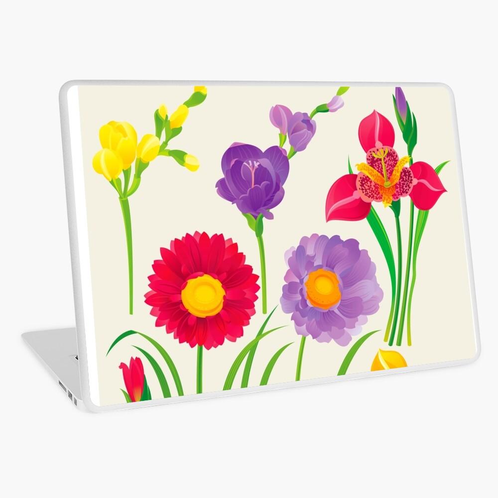 Spring Flowers Laptop Skin