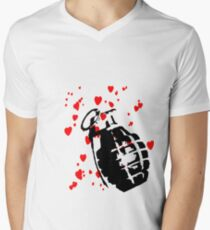 hearts and a hand grenade T-Shirt
