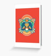 Amoureux Carte de vœux