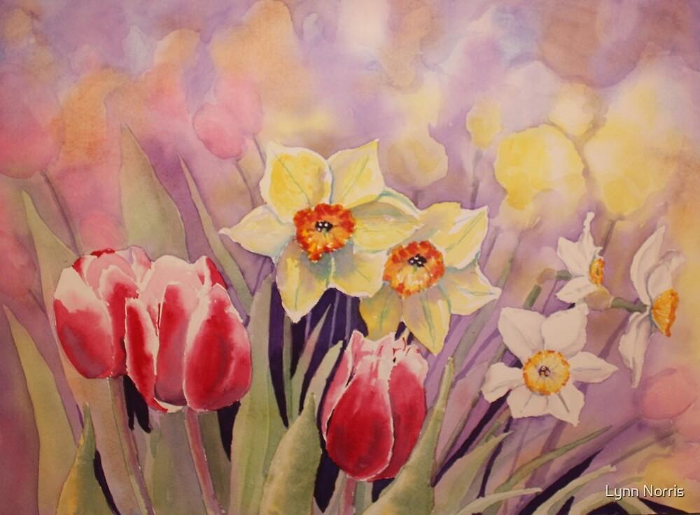 Spring Flowers by Lynn Norris