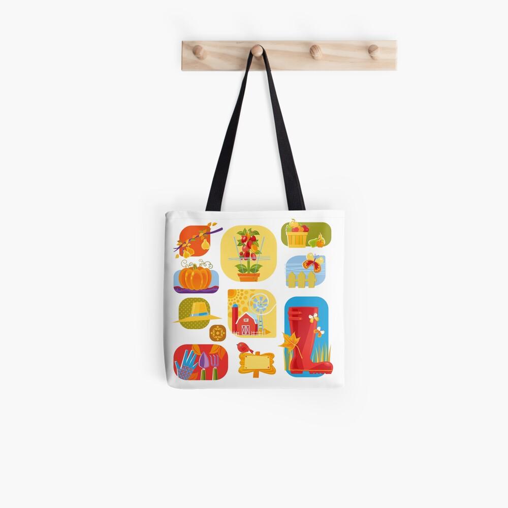 Autumn Farm  Tote Bag