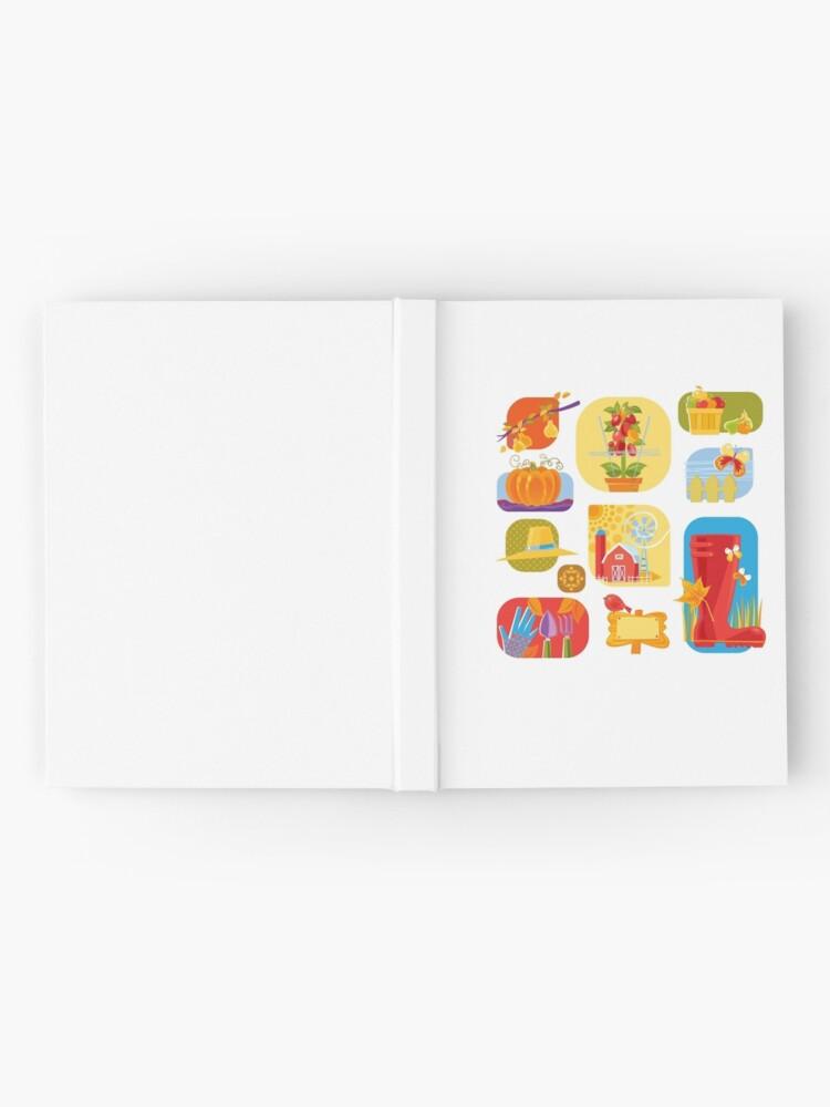 Alternate view of Autumn Farm  Hardcover Journal