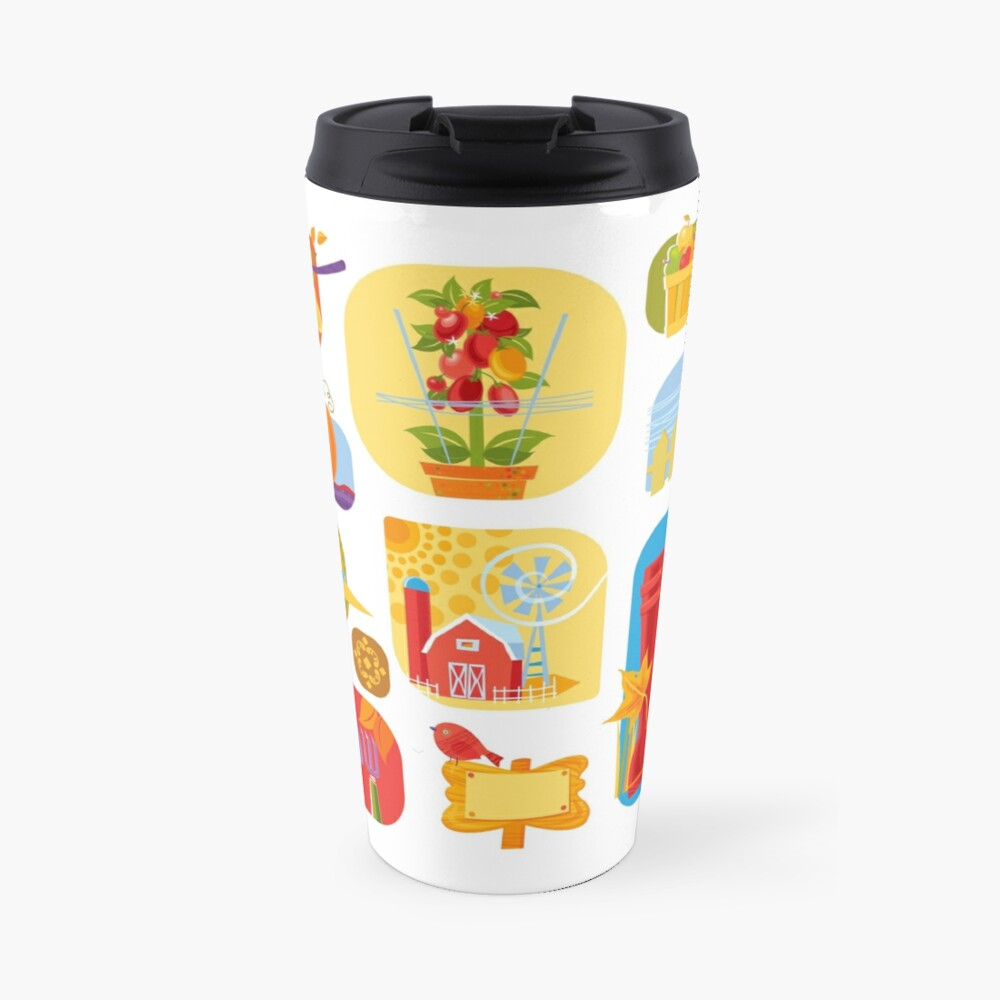 Autumn Farm  Travel Mug