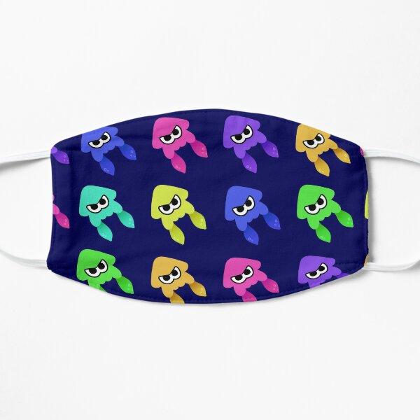 Splatoon Squid Pattern Flat Mask
