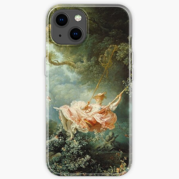 The Swing-Jean-Honore Fragonard iPhone Soft Case