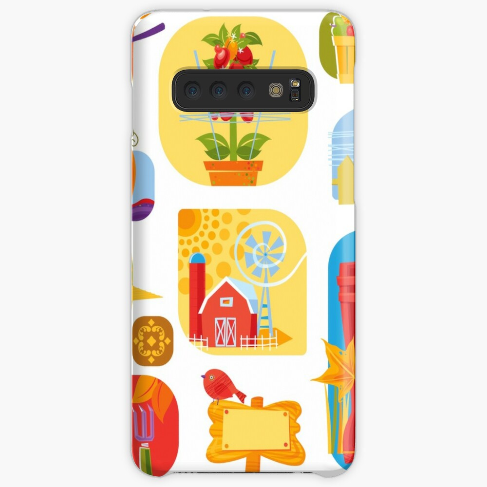 Autumn Farm  Case & Skin for Samsung Galaxy