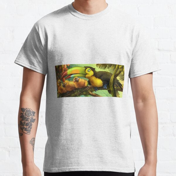 Toucan and Sun Conures! Classic T-Shirt