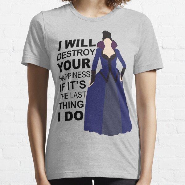 Regina Mills - Destroy Your Happiness Essential T-Shirt