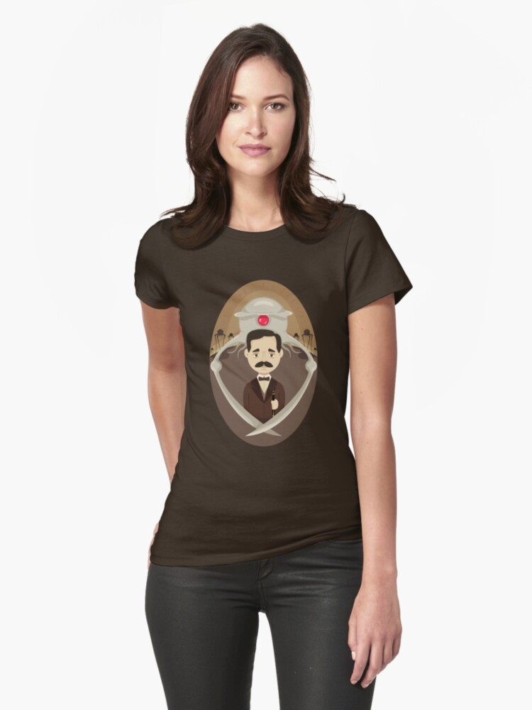 H. G. Wells Womens T-Shirt Front