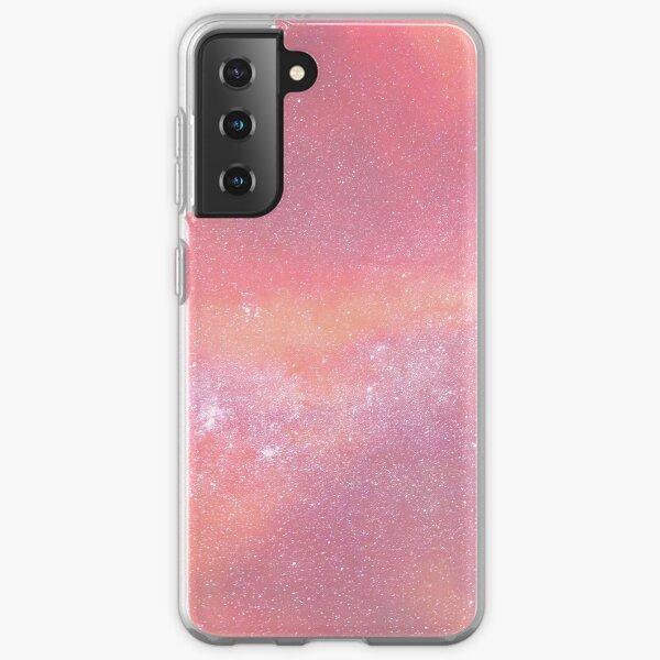 Pink Star Galaxy Samsung Galaxy Soft Case