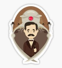 HG Wells Sticker
