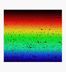 Sunlight  - Full Emission Spectrum Photographic Print