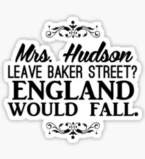 England Would Fall Sticker