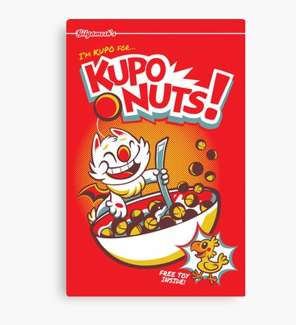 Kupo Nuts Canvas Print